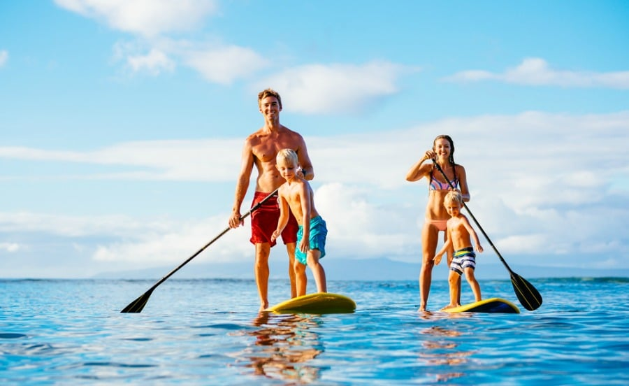These Inflatable Paddle Boards are Great Fun and Perfect for Beginners 50376549ec40