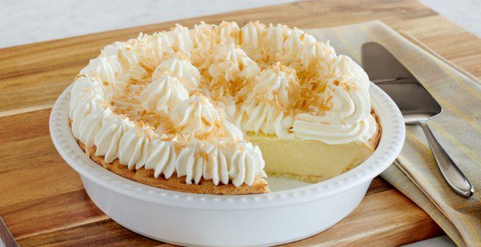 How to Make a Coconut Cream Pie