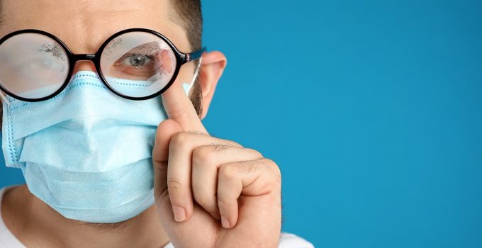 How to Keep Glasses from Fogging Up While Wearing a Mask