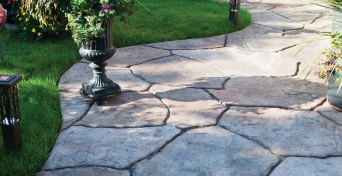 The Pros and Cons of Using Stamped Concrete for Backyard Projects