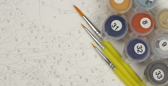 7 Ways Painting by Numbers Enhances Your Focus & Concentration