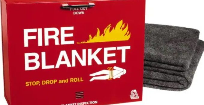 A Brief Guide To Fire Blankets, What Are They And What Are They Used For?